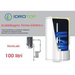 Scaldabagno Termo-Elettrico ST Verticale LT100 con Serpentino