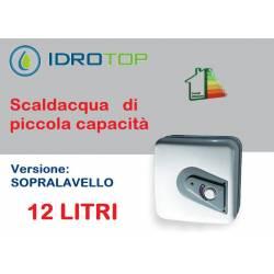 Scaldabagno Elettrico Q 12SP modello sopra lavello 12 LITRI