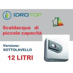 Scaldabagno Elettrico Q 12ST versione sotto lavello 12 litri