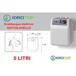 Scaldabagno Elettrico A5 ST installazione Sottolavello+kit fissaggio