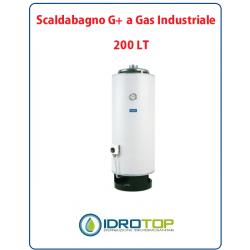 Scaldabagno 200LT G+ a Gas Industriale Heizer Camera Aperta