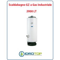 Scaldabagno 2000LT GZ a Gas Industriale Heizer Camera Aperta Tiraggio Naturale