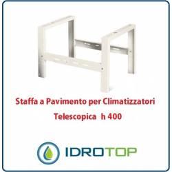 Staffa a Pavimento h400 Supporto di Rialzo per Climatizzatori Telescopica