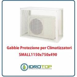 Gabbie di protezione SMALL 1150x750x490 mm per Climatizzatori Unità Esterna