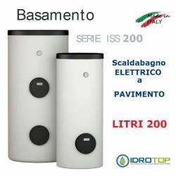 Scaldacqua ISS 200 - 200L Elettrico a Pavimento ad Accumulo in Acciaio Vetroporcellanata Styleboiler