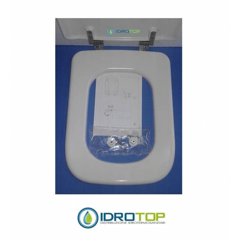 Copriwater per modello conca in termoindurente avvolgente for Copriwater conca ideal standard originale