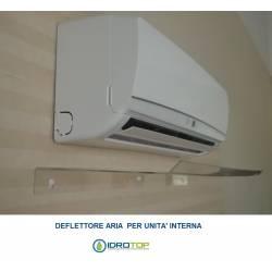 Déflecteur pour conditionneur d'air et air conditionné. Installation facile sur tous les modèles.