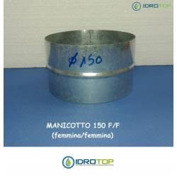 Manicotto di Giunzione diam.150F/F-per Unire le Tubazioni Aria Calda e Fredda