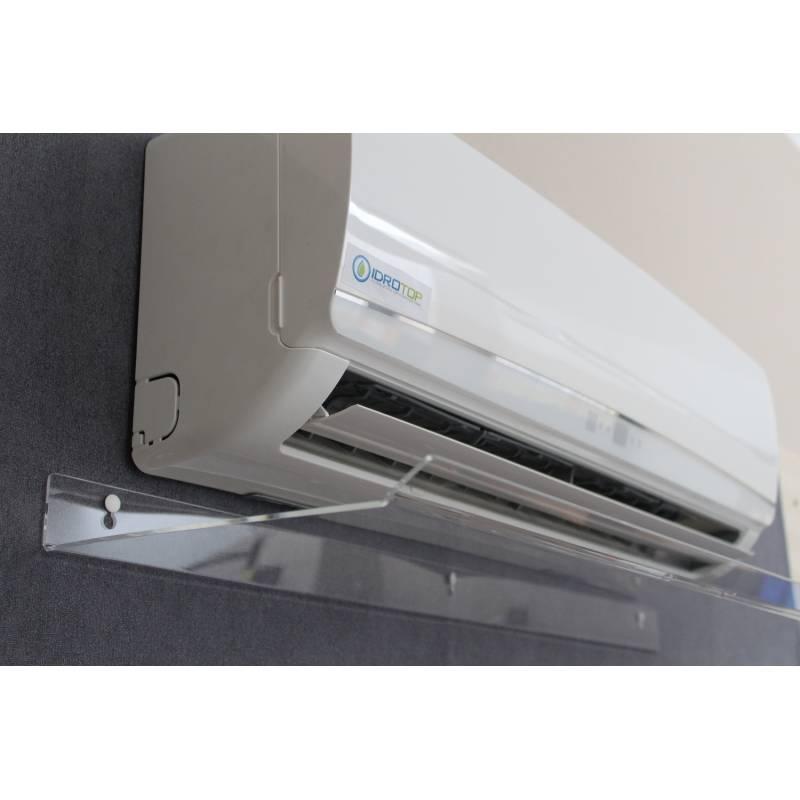 Deflettore Aria per Split Climatizzatore 900x300x30 Trasparente Nuovo Design