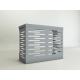 Copri Climatizzatore/Condizionatore  per Unità Esterna  L900xH700xP450 in Alluminio Composito