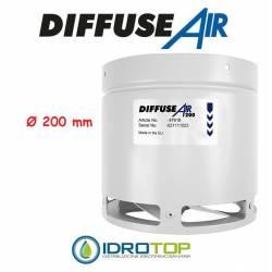 DiffuseAir Ø200 Diffusore per Ventilazione e Coltivazioni in Ambienti Chiusi-Idroponica