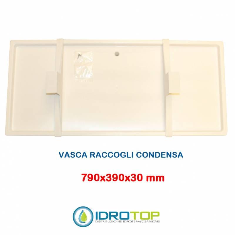 Vaschetta mm 790x390x30 Raccogli Condensa Unità Esterne Condizionatori