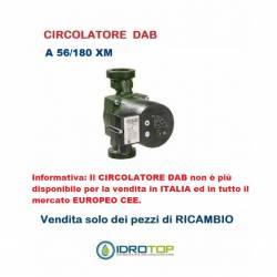 Circolatore per Piccoli Impianti Riscaldamento A 56/180 XM di Dab