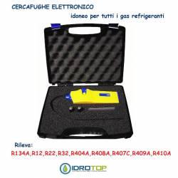 Cercafughe Elettronico per tutti i Gas Refrigeranti mod.Seeker in Valigetta-Idrotop