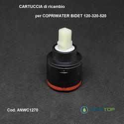 CARTUCCIA DI RICAMBIO MISCELATORE Copriwater Bidet x articolo 120-320-520 ORIGINALE