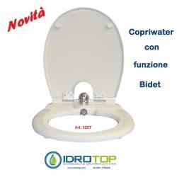 COPRIWATER con BIDET sedile con funzione BIDET INCORPORATO art.320TGRY