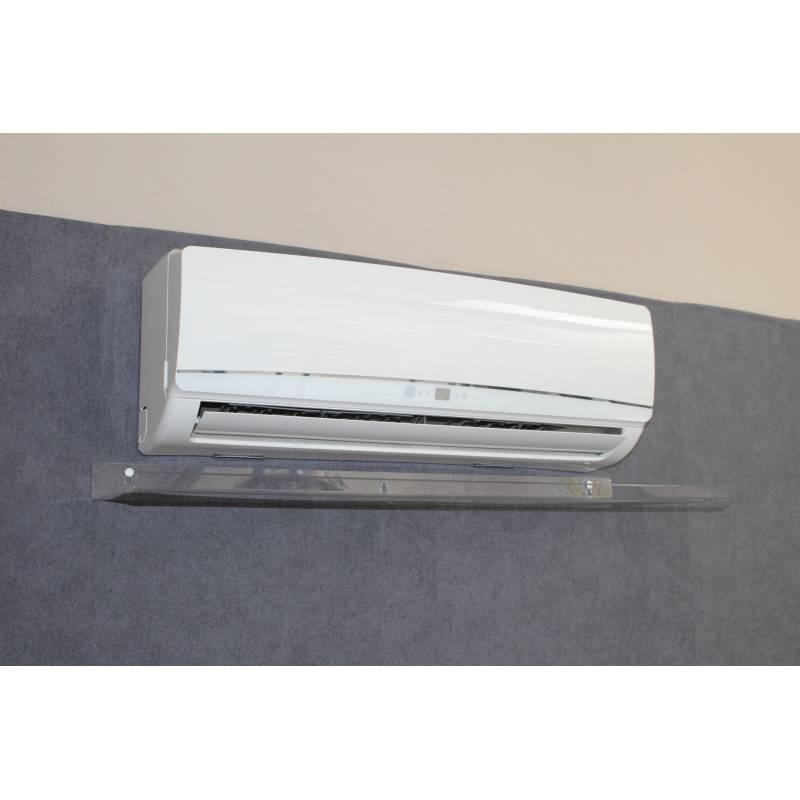 Deflettore Aria per Split Climatizzatore 900x310x55 Trasparente Nuovo Design
