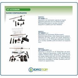 Kit Accessori Originali per Aspirapolvere Centralizzato-Compatibili con altre marche.