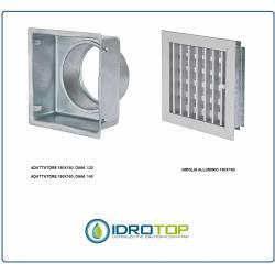 adattatore per griglie regolabili  180X180 mm