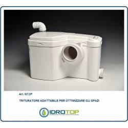TRITURATORE  per LAVABO+ WC  salvaspazio art. W12 P Gruppo SANITRIT