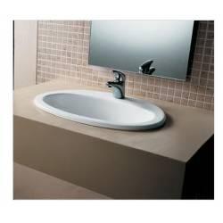 Lavabo incasso Mod. MARINE Ceramica Dimensioni 560x435 Hatria