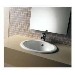 Lavabo incasso 420x420 Mod. BOULE Ceramica Dimensioni  Hatria