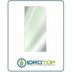 Radiatore in Vetro CORNER H150 x L 60 cm colore SPECCHIO minimo ingombro-Ponsi Scaldasalviette